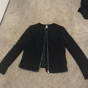 GUC H&M chevron zip up jacket